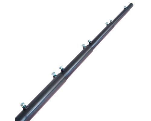 Мачта 8 метров алюминиевая телескопическая (d45)