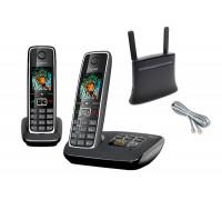 Стационарный сотовый телефон KIT-MF283-C530A-DUO