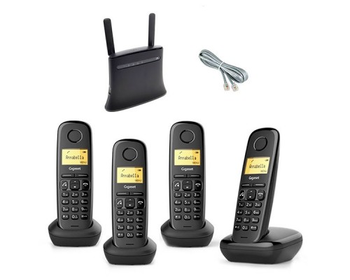 Стационарный сотовый телефон KIT-MF283-A270Quattro