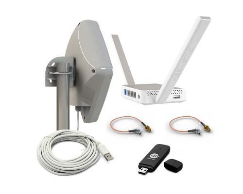 Интернет для дачи 3G/4G/Wi-Fi Оптима Unibox